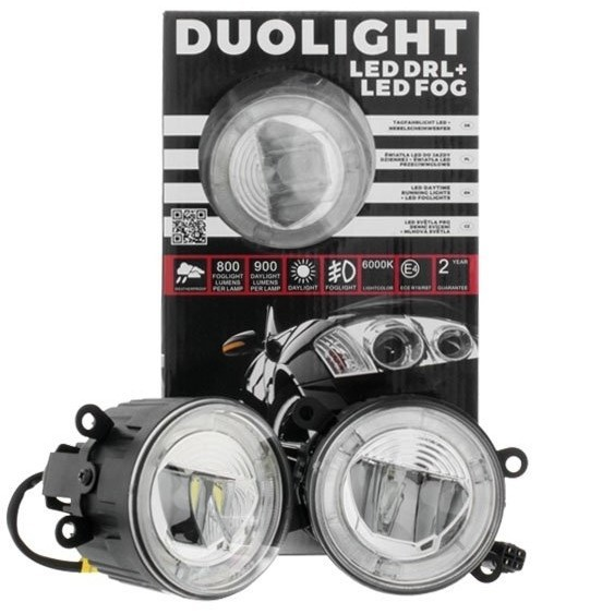 Światła duolight LED EINPARTS DL22 do Peugeot 407 Coupe 2006-2009