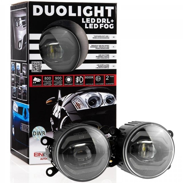Światła duolight LED EINPARTS DL38 do Fiat 500L 2012-