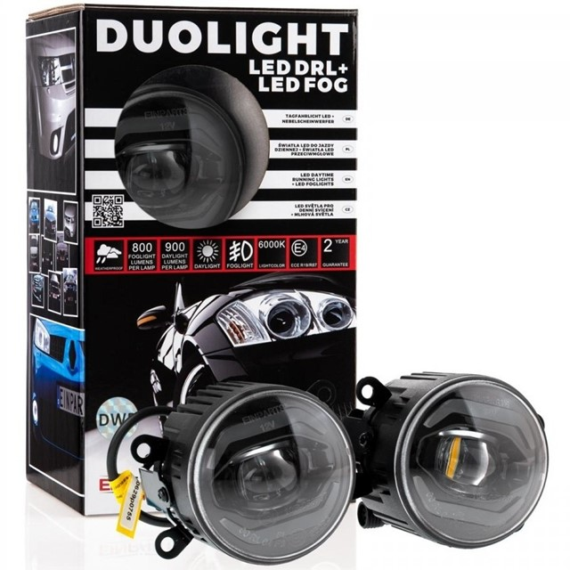 Światła duolight LED EINPARTS DL39 do Nissan Navara D40 2005-2014
