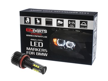 Markery LED do ringów (angel eyes) EINPARTS EPM12 H8 240W