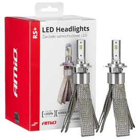 Żarówki LED AMIO LED headlight RS+ H7-1 12/24V 50W (6000K, canbus)