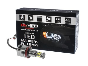 Markery LED do ringów (angel eyes) EINPARTS EPM13 H8 240W do BMW 5 E60 2007-2010