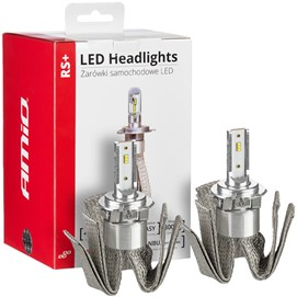 Żarówki LED AMIO LED headlight RS+ H7-6 12/24V 50W (6000K, canbus)