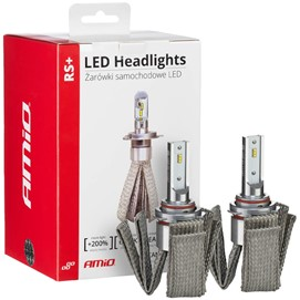 Żarówki LED AMIO LED headlight RS+ HB3 12/24V 50W (6000K, canbus)