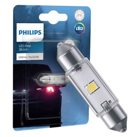 Żarówka LED PHILIPS Ultinon Pro3000 SI C5W C10W 38mm 12V 0.6W (6000K)