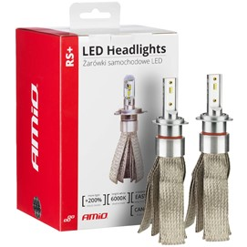 Żarówki LED AMIO LED headlight RS+ H7 12/24V 50W (6000K, canbus)