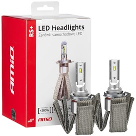 Żarówki LED AMIO LED headlight RS+ HB4 12/24V 50W (6000K, canbus)