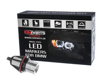 Markery LED do ringów (angel eyes) EINPARTS EPM01 10W do BMW X5 E53 2002-2007