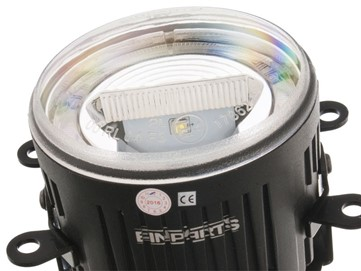 Światła duolight LED EINPARTS DL22 do Peugeot 607 2004-